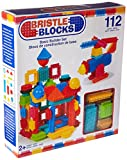 Battat Bristle Blocks 112-Piece Basic Building Set