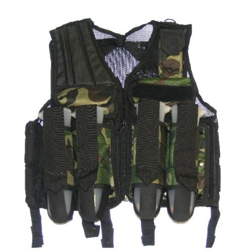 Premium Black/Camo Paintball Airsoft Tactical 