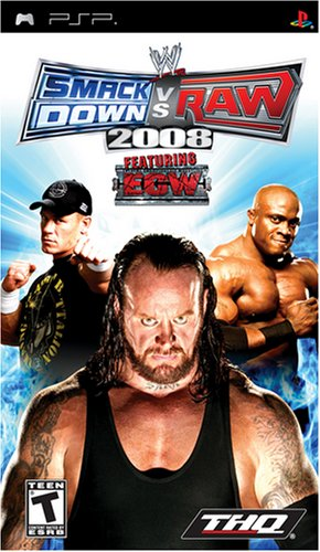 WWE Smackdown vs. Raw 2008 (PSP)