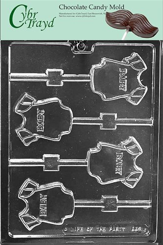 Cybrtrayd B062 Baby Onesie Lolly Baby Chocolate Candy Mold front-984710