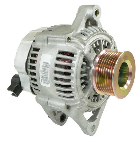 HIGH OUTPUT ALTERNATOR 2001-2000 1999 Dodge Ram Pickup 5.9L Diesel 250 HIGH AMP with 8 groove pulley (Dodge Cummins Battery Cable compare prices)