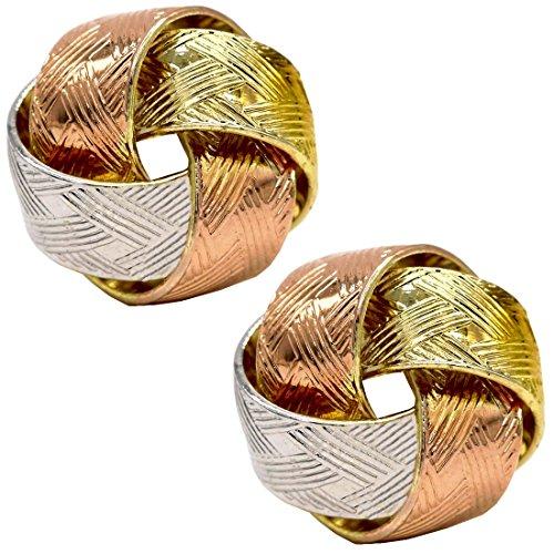 juvel-jewelry-multi-tonalite-14-k-rose-rhodium-plaque-classics-lie-stud-boucles-doreilles-3-couleur