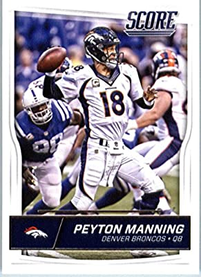 2016 Score #95 Peyton Manning Denver Broncos Football Card-MINT