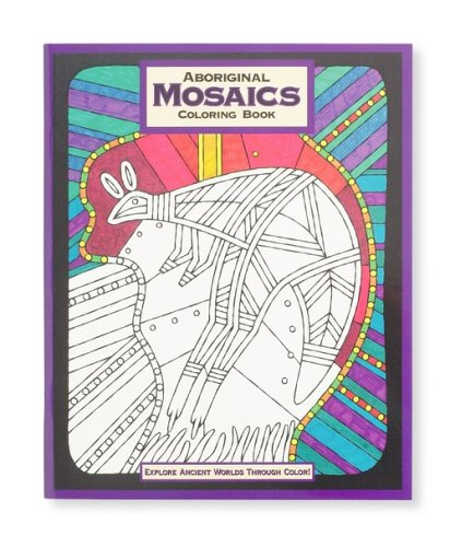 Mind Ware Aboriginal Mosaic Coloring Book