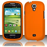 For Samsung Stratosphere 2 i415 (Verizon) Rubberized Cover - Orange