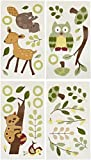 Lambs and Ivy Enchanted Forest Wall Appliques, Green