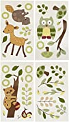 Lambs and Ivy Enchanted Forest Wall Appliques Green
