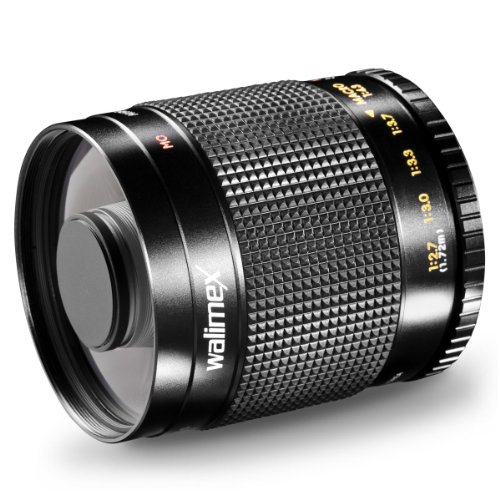 walimex 500mm f/8.0 Tele Mirror Lens for Canon AF