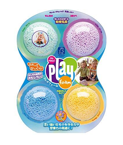 Educational Insights Playfoam - Classic 4-Pack 【知育玩具 ねんど遊び】 プレイフォーム クラシック(4個入り) 正規品