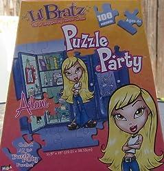 100pc. Lil Bratz Puzzle Party-Ailani