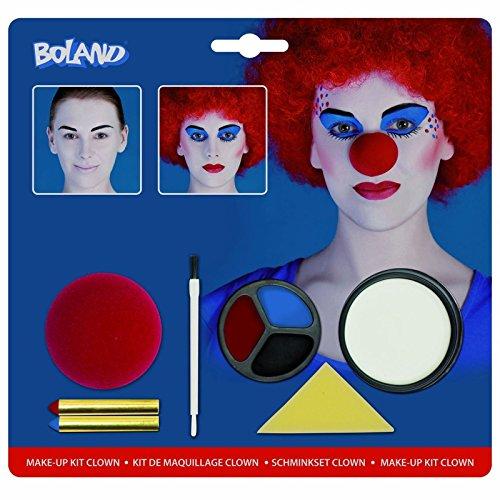 [Jester Clown Make up Kit Evil Halloween Facepaint Harley Quinn Cosplay Suicide] (Best Halloween Costumes Ever 2016)