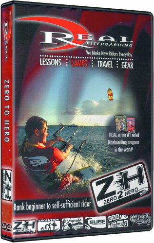 REAL KITEBOARDING Zero To Hero Instructional Dvd