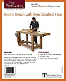 Fine Woodworking's Roubo Bench with Bench Crafted Vises Plan (Fine Woodworking Project Plans)