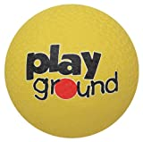 Baden Rubber 5-Inch Playground Ball, Yellow