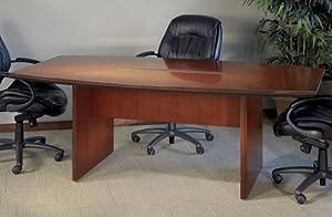 Conference Tables (Boat-shaped) Sierra Cherry Veneer