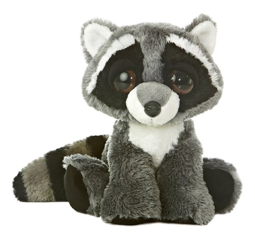 "Aurora World Dreamy Eyes Rowdy Raccoon 10"" Plush"