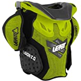 Leatt Youth Fusion Vest 2.0 Junior Neck and Torso Protection - Green/Black - Large/X-Large