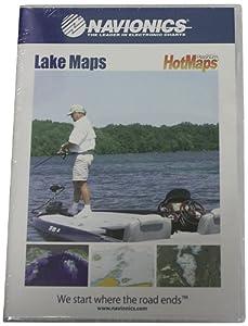 Navionics Hotmaps Platinum East Lake Fishing Maps by Navionics
