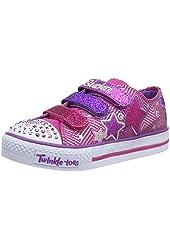 Skechers Kids 10249L Shuffles Triple Up Light-up Sneaker (Little Kid)