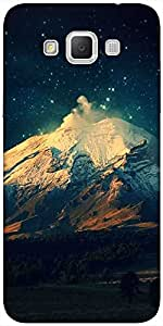 Snoogg Night In The Everest Designer Protective Back Case Cover For Samsung G...