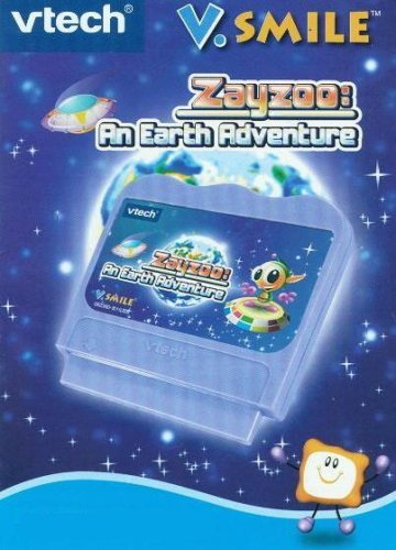 Vtech Vsmile Zayzoo: An Earth Adventure Cartridge - 1