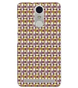 PrintDhaba PATTERN D-6763 Back Case Cover for LENOVO K5 NOTE (Multi-Coloured)