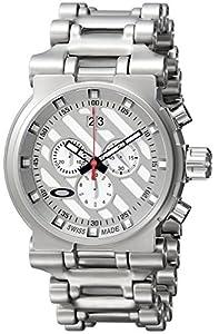 Oakley Men's 10-046 Hollow Point White Dial Watch