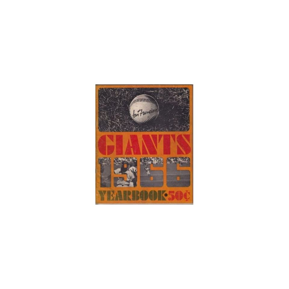 San Francisco Giants 1966 Yearbook   MLB Programs and Yearbooks