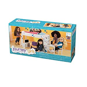 journey girls classic 18 inch doll bedroom set toys