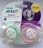Philips Avent Fashion Soother Twin Pack 0-6m (Sheep)