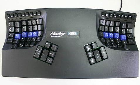 Kinesis Advantage USB Contoured Keyboard【キネシス コンタードキーボードアドバンテージ・黒】 KB500USB-blk