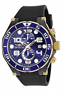 Invicta Men's 17814 Pro Diver Quartz Multifunction Blue Dial Watch