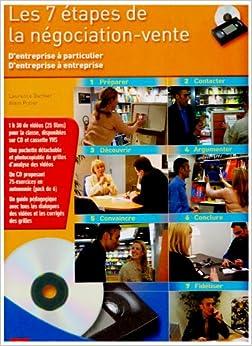 COFFRET 7 ETAPES NEGOCIATION VENTE LP/LT (French Edition