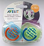 Philips Avent Fashion Soother Twin Pack 6-18m (Cars)