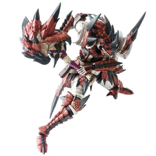 モンスターハンター4 フル可動アクションフィギュア レウス装備ハンター(剣士) 【イーカプコン限定】