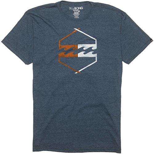Billabong Men'S Axis T-Shirt Naval Heather Large front-1003454