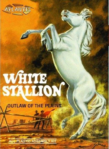 White Stallion Outlaw of the Plains 1-12 Atlantis Model Company
