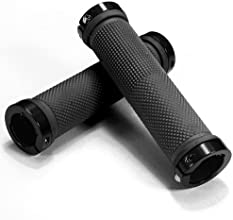 Dcolor Pair Rubber Mountain Bike Cycling Right Left Handlebar Grip Cover Black