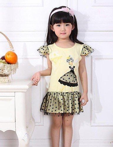 cbinhua-las-ninas-en-vestidos-de-verano-mr-telas-tintorero-mas-elasticas-yellow-130-yellow-130