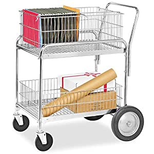 """: Mail Cart - 30 x 23 x 38""""- ULINE : Utility Carts : Office Products"""