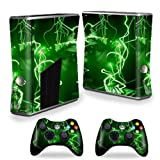Mightyskins Protective Vinyl Skin Decal Cover For Microsoft Xbox 360 S Slim + 2 Controller Skins Wrap Sticker... - B00CXPHKO4