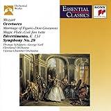 Mozart: Overtures; Divertimento, K. 131; Symphony No. 28