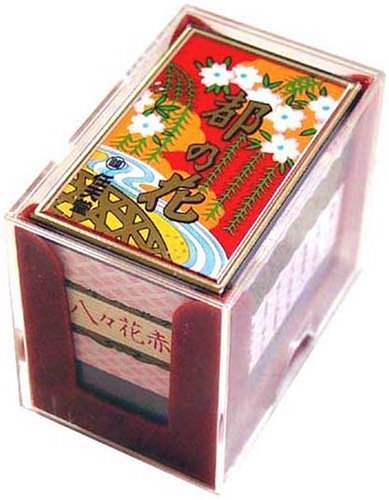 Nintendo Japanese Playing Cards Game Set Hanafuda Miyako no Hana Red by Nintendo