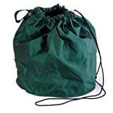 Emerald Green Jewel Small GoKnit Pouch Project Bag w/ Loop & Drawstring by KnowKnits