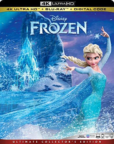 4K Blu-ray : Frozen (2 Discos)
