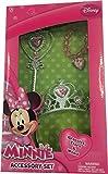 Minnie Mouse Tiara Wand and Bracelet Set