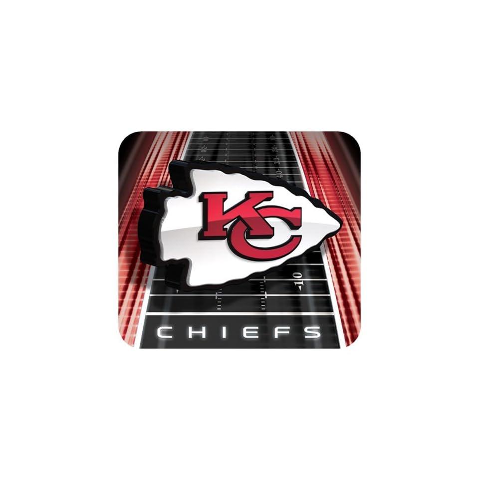 Kansas City Chiefs Football Field Mouse Pad