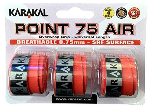 Karakal-Point-75-Air-Overgrip-3-Pack-Rojo
