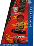 Disney Cars 2 Lightning Mcqueen Acoustic Guitar