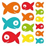 Wall Glamour Childrens Wall Stickers Fish